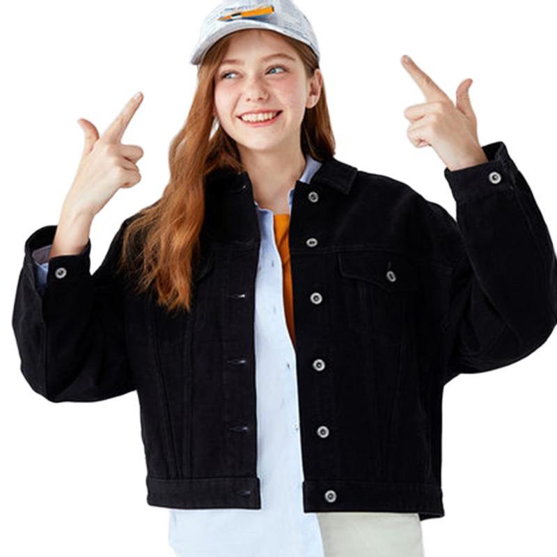 SEMIR Ceket Kadınlar Sonbahar ve ilkbahar Kapşonlu Kadın Ceket 2020 Kontrast Nakış Boş clothingX1016 paltoları kadını Tops