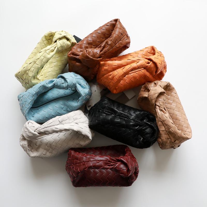 Kalite Jodie Yüksek Deri Sıcak Çanta Satmak için 2021 Yeni Stil Dokuma Moda Düğümlü Çanta Armpit Çanta Tasarımcılar Luxurys Wom CWXVW