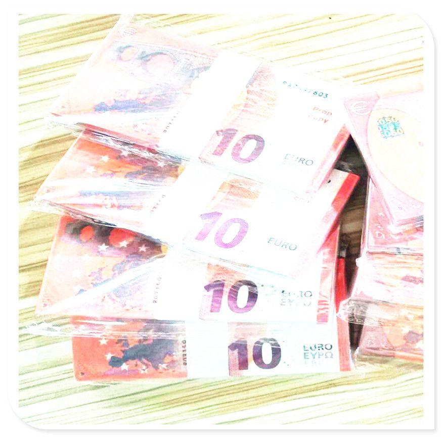 10 divisas euross tira resistente al desgaste a los billetes partido disparar cumpleaños simulación de la venta caliente products50 transfronteriza libras wea moneda
