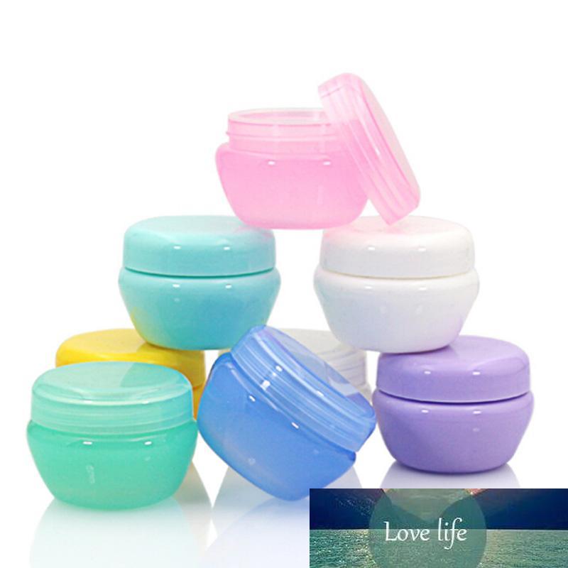 Bottiglie di funghi riutilizzabili di plastica vuota trucco vaso Pot Viaggi Crema Viso / Lozione / Cosmetic Container