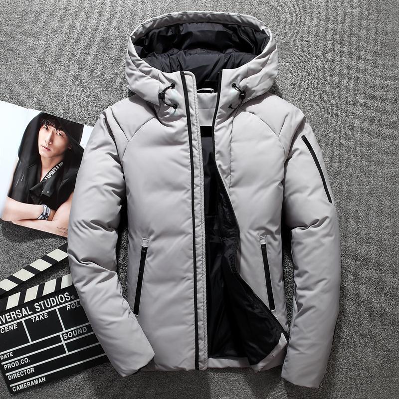 2020 Nouveau canard blanc Vestes épais Les hommes de Réchauffez à capuchon neige Parkas Homme Marque Vêtements d'extérieur Manteau d'hiver des hommes