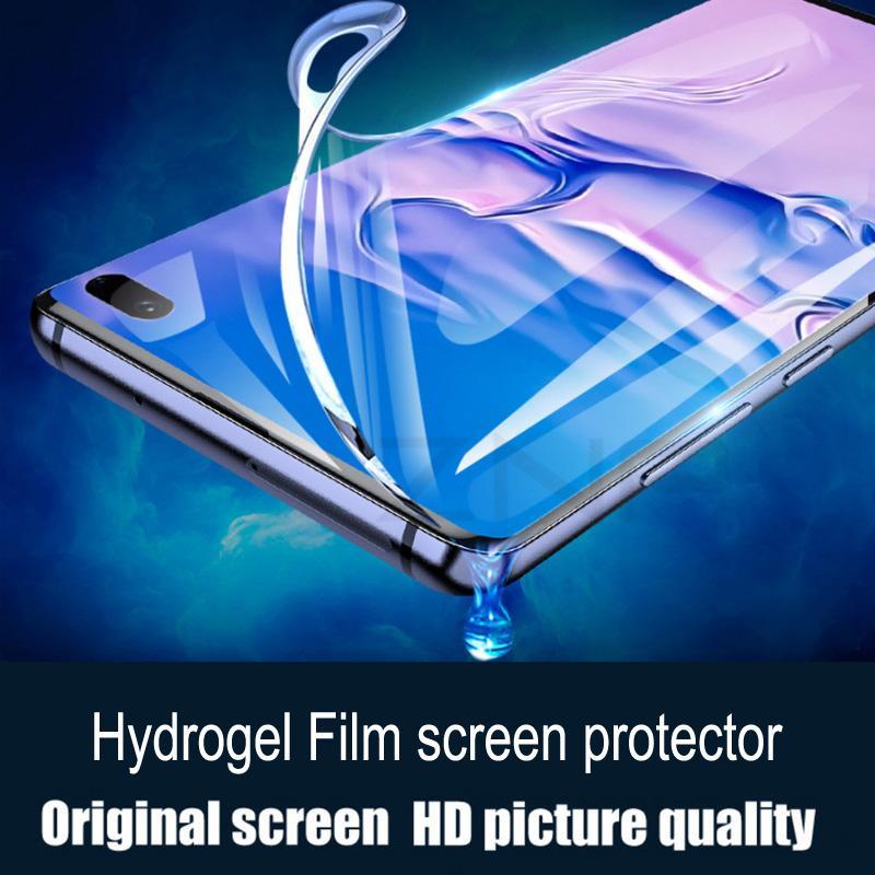 Pantalla de la cubierta completa de la película del protector de hidrogel HD película suave para Samsung Note20 Ultra Plus s20 s10 S10e S9 S8 pantalla Protector de reparación de automóviles