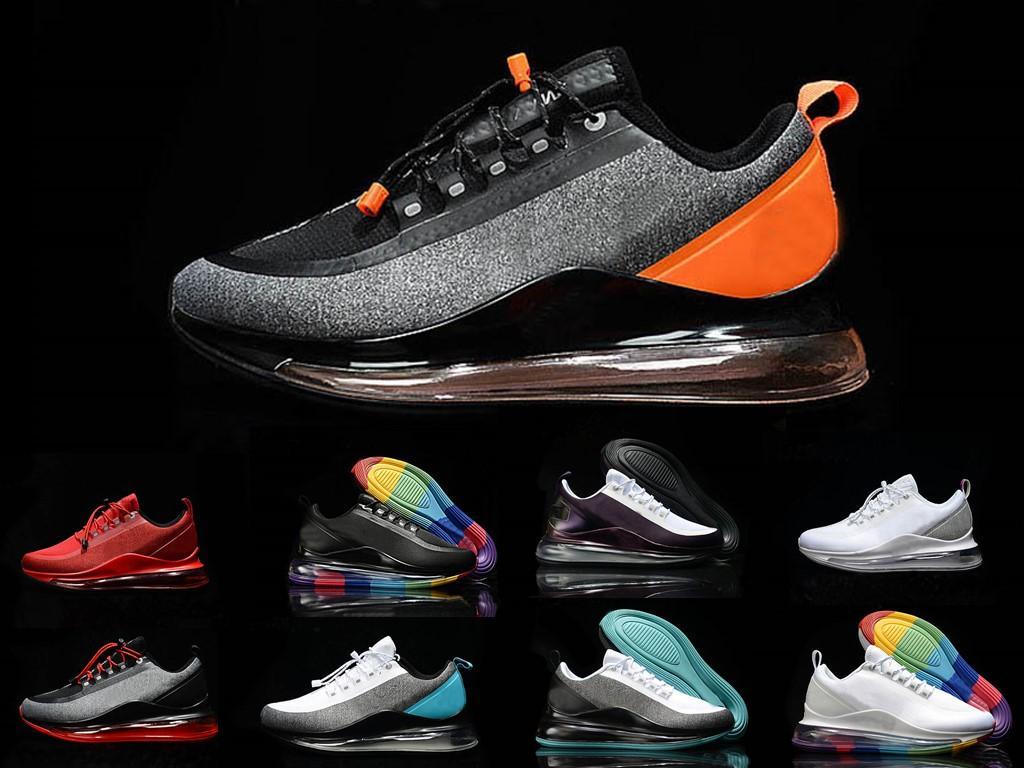 2020 Novo Cor Homens Mulheres 72C sapatos executando treinando calçados esportivos Triplo Black Red White sneakers externas formadores sapatos casuais tamanho 36-45