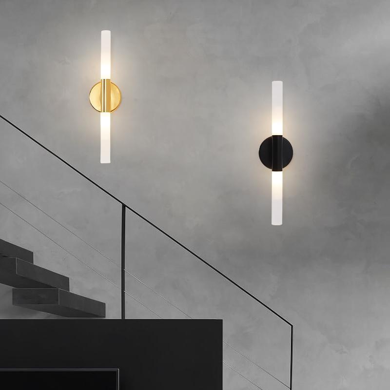 Postmodern kristal dekor duvar lambası yaratıcı yatak odası başucu salon otel villa koridor koridor lamba ayna far CL42313