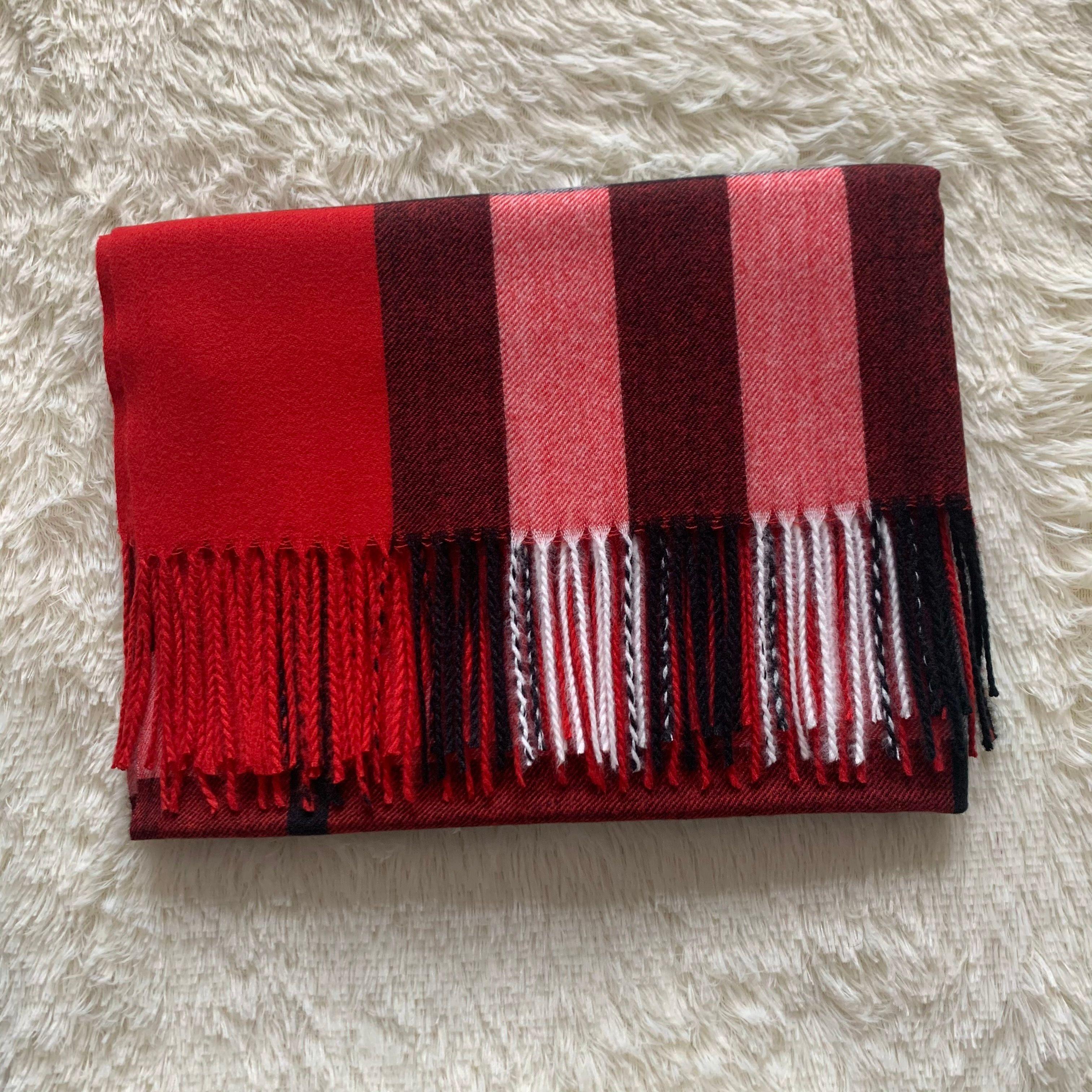 Dimensione 200 * 70 cm Nuova sciarpa di lana sciarpa di lana sciarpe di lana modello classico marchio cashmere uomo e donna sciarpa