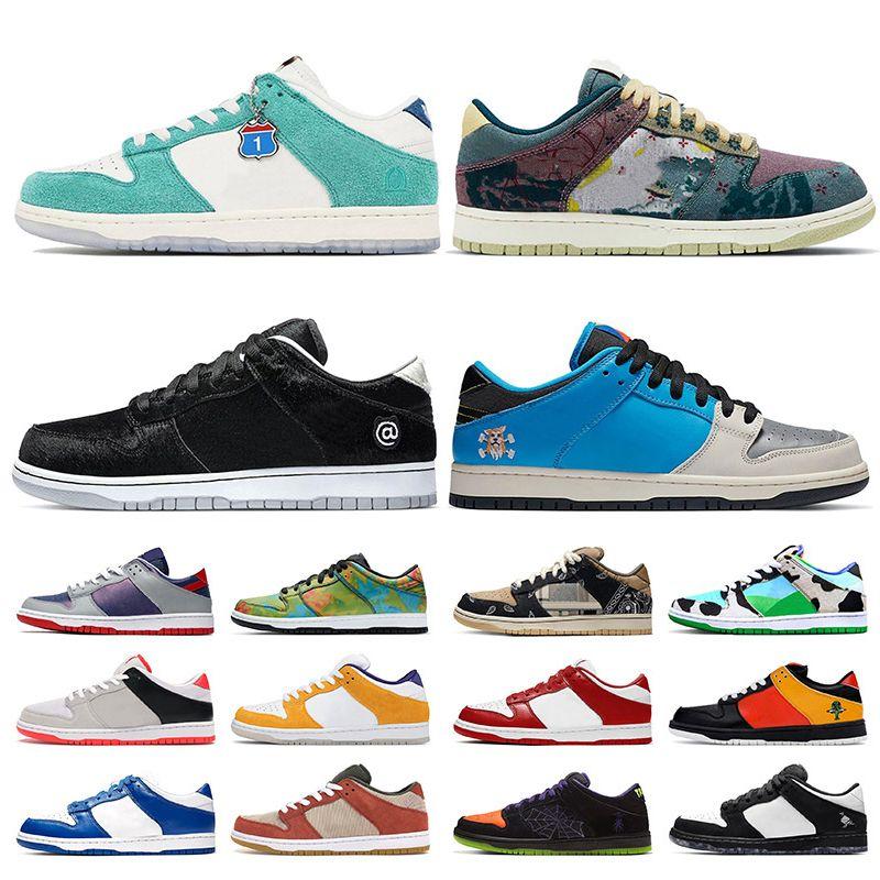 Nike SB Dunk Low الأسهم sb x dunk kasina مصمم الأزياء الاحذية المجتمع حديقة كن @ rbrick الفورية سكيتبورد مكتنزة دانكي المرأة رجل ني حذاء