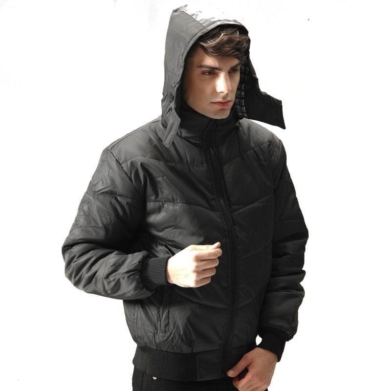 Мужская упаковочная пуховиковая куртка с капюшоном водонепроницаемая легкая толстовка для путешествий на открытом воздухе
