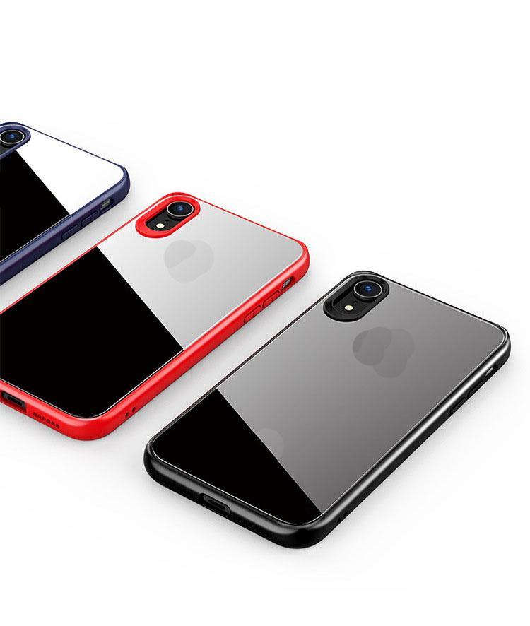 Soft TPU Clear Telephone Cases Colorful Bumper Shell Mobile Case Custodi per iPhone 6S 7 8 XR x Max 11 12 Pro