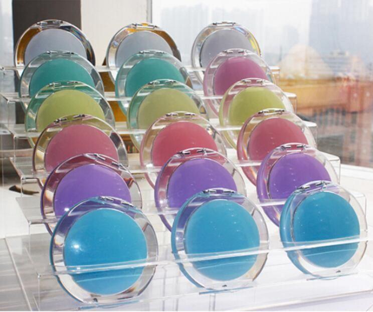 Макияж зеркала портативные мини косметические зеркала олова тарелка компактное карманное зеркало маленькое двухстороннее зеркало сладкое простые акриловые круглые wmq486