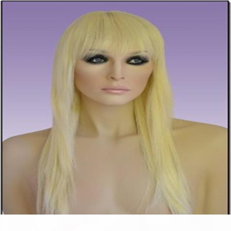 Calidad alta rubio 613 # Pelucas llenas del cordón Zapatos peluca llena del cordón superior de seda 5.5 * 5.5 Weaving Cabello liso En brasileño de la Virgen del pelo 100% Kabell