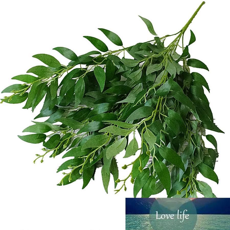 feuilles artificielles bouquet faux saule jungle fond décoration plante décoration noël vigne faux feuillage fête de mariage de Noël