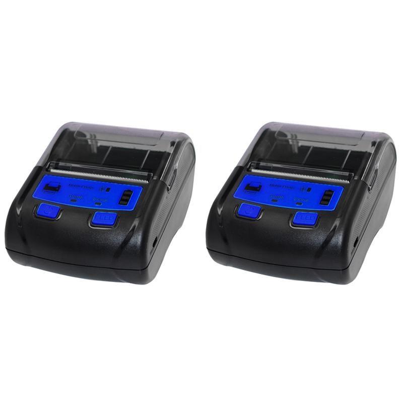 Thermal Receipt Printer 58mm Bluetooth Wireless Label Printer Mobile Phone Receipt Barcode