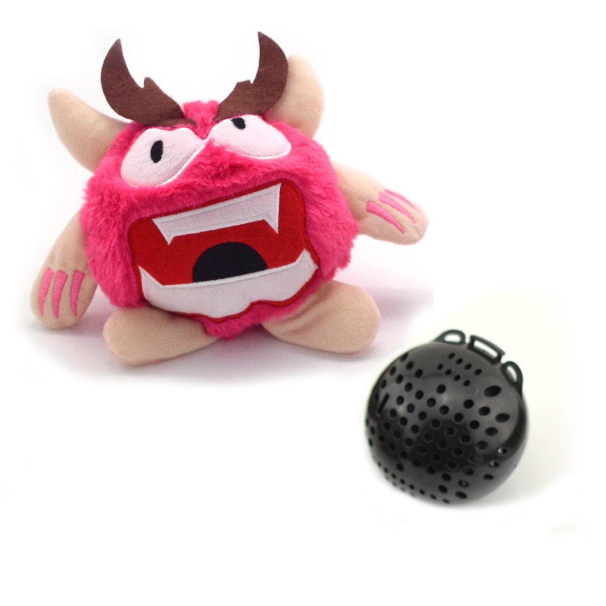 Elétrica monstro pequeno bonito Plush Toy, desenhos animados Stuffed Animal, Vibrar fazer um som Pet Dog Toy, para o ornamento, Xmas Kid presente de aniversário, 2-2