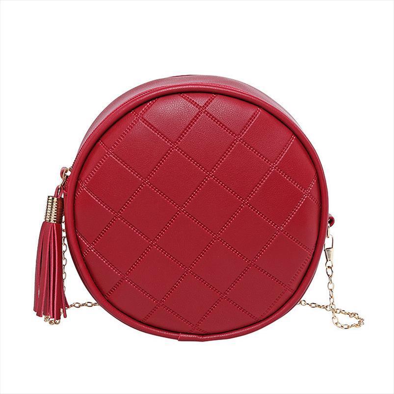 2020 новая Корейская прочисток маленькой круглого мешка дикой сумки простой мода женщина мешок плеча