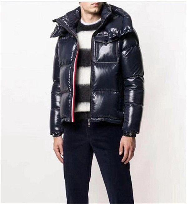 Neue Männer Winter Warme Mantel Outdoor 90% Weiße Ente Down Proofing Mode Windjacke Oberbekleidung Pufferjacke Parka