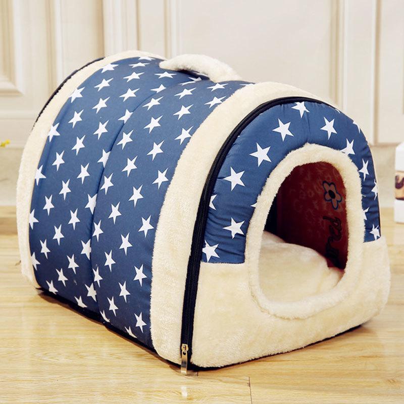 Dog Dog Dog Dog Maison de chat mignon pliable Tapis de chat de taille moyenne petite taille moyenne pour animaux de compagnie Cave Animal paresseux 201222