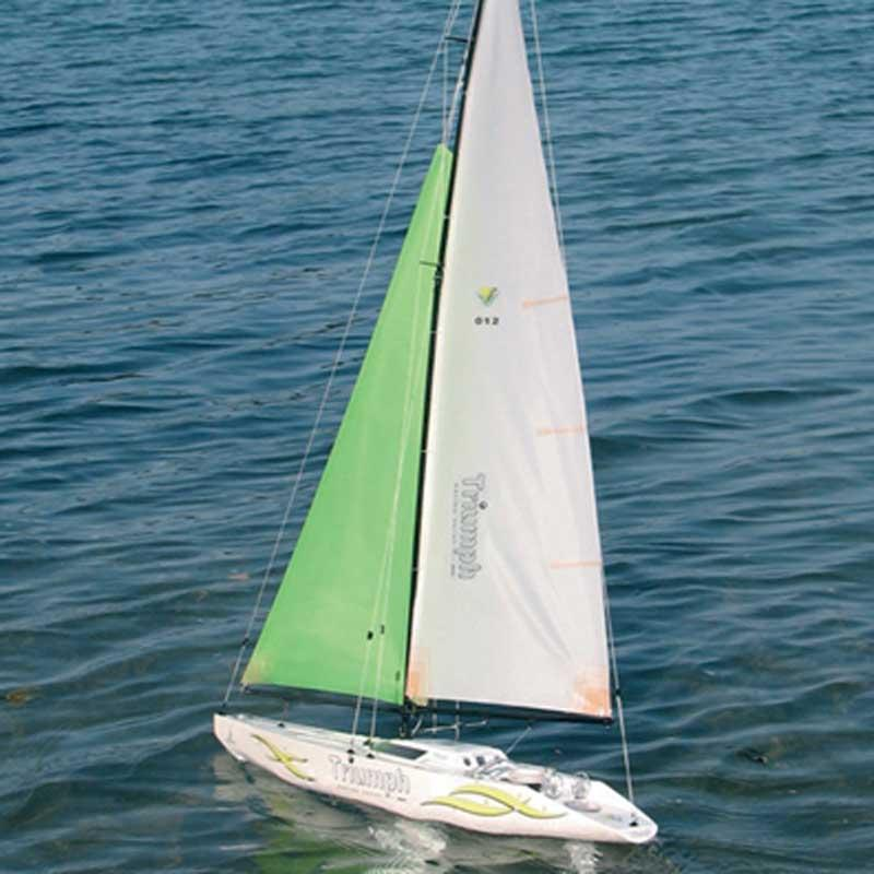 Hot RC Toy 80cm big remote control sailing boat full set model power boat gift boat Shopping free shipping