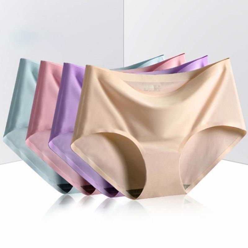 Soie de glace Lingerie Femelle Sous-vêtements Culotte Sous-vêtements pour Femmes Soldes Soft Souffers Softs Souffers
