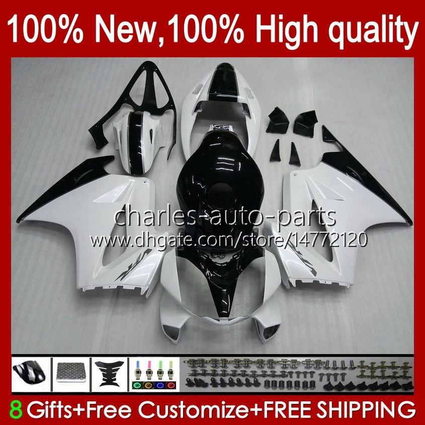 VFR-800 lichaam voor HONDA VFR800 VFR 800 RR VFR800RR Interceptor 100HC.16 White Glossy 02 03 04 05 06 07 08 09 10 11 12 2002 2012 Fairing Kit
