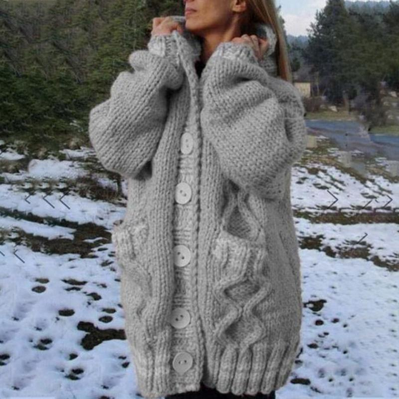 2020 New Fashion Winter Winter Donne Casual Top Coat Top Coat femminile Spessore caldo Cashmere Giacca Casual Girls Streetwear subito