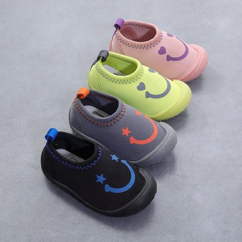 Сплошной цвет Дети Холст Обувь Unisex Мальчики Девочки Кроссовки Скольжение на детей плоских обувь Спорт Упругие Ткань Повседневный Bjdo #