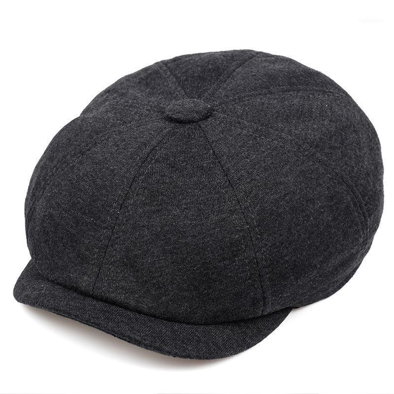 القبعات الأزياء البرية sboy كاب الرجال النساء الرجعية قبعة قبعة الهيب هوب القبعات بلون عارضة مثمنة gorras1