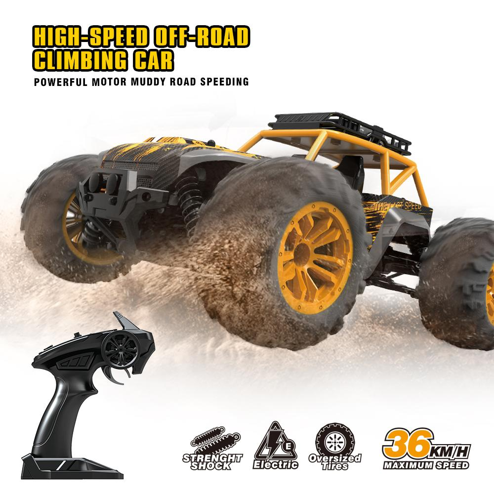 High Speed ​​Rc Cars Modell Wettbewerb 36km / h Metall 4wd elektrisch Rc Nitro Car RC Formula Cars Off Road Kinds Geschenk