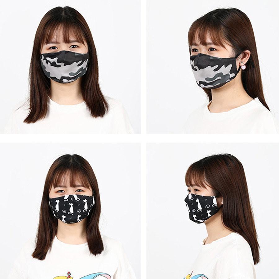Filtrer des masques imprimés Coverabes à la mode Masque CCDOT personnalisé Masque anti-poussière Masque insertable masque anti-smog mascarilla visage designer Funn SSWS Kikf