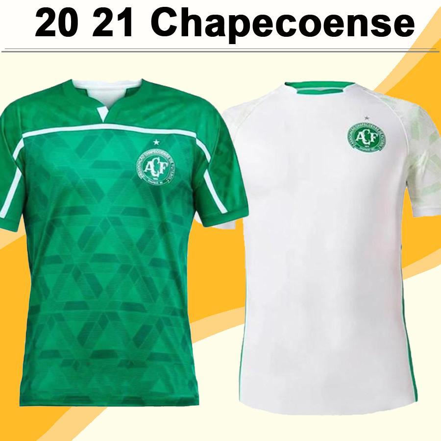 20 21 Chapecoense Mens Soccer Jerseys ALAN RUSCHEL EZEQUIEL RAMON SILVA Home Green Away Football Shirt Club Short Sleeve Uniforms