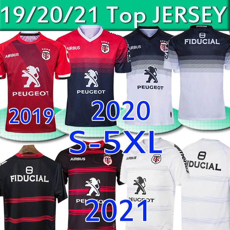 Toulouse Munster City Rugby Jerseys 2021 New Home Away 2020 Stade Toulousain 2019 League Jersey Lentulus Shirts الترفيه الرياضة 3xl 4xl 5xl