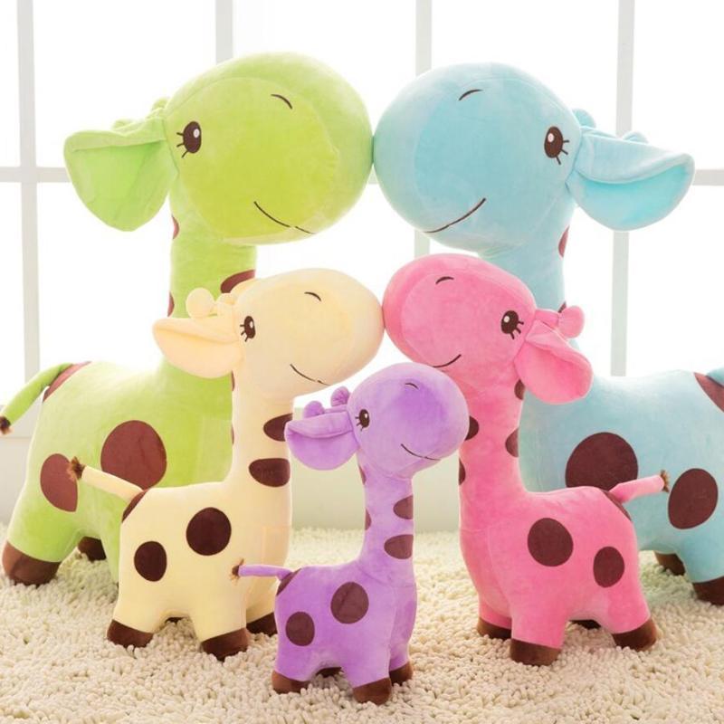 Jouets pour chiens en peluche drôle Jouets à macher Toy Cartoon cerf en peluche chien forme chiot jouets à mâcher pour animaux de compagnie et les enfants