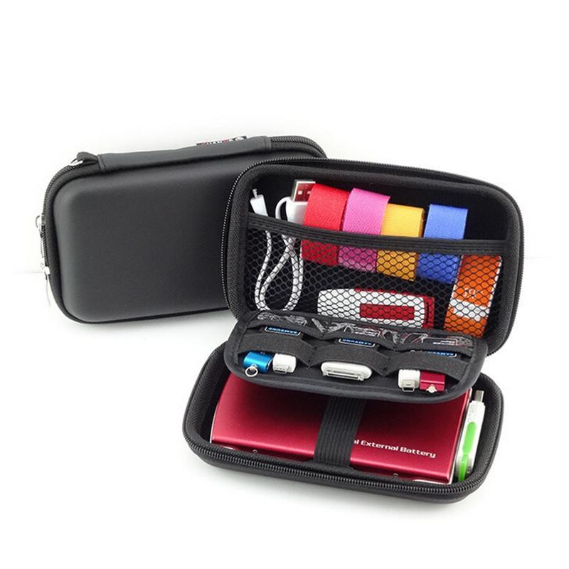 Borsa da viaggio Mobile Kit Case Digital Gadget Dispositivi USB Cable Data Line Data Travel Insert Bag Set Gadget