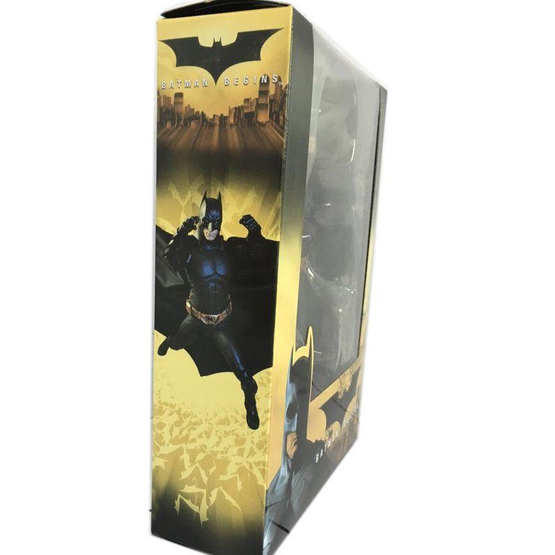 العمل باتمان يبدأ بروس PVC رجاء Waynean الشكل لعبة الدمية هدية عيد الميلاد للأطفال