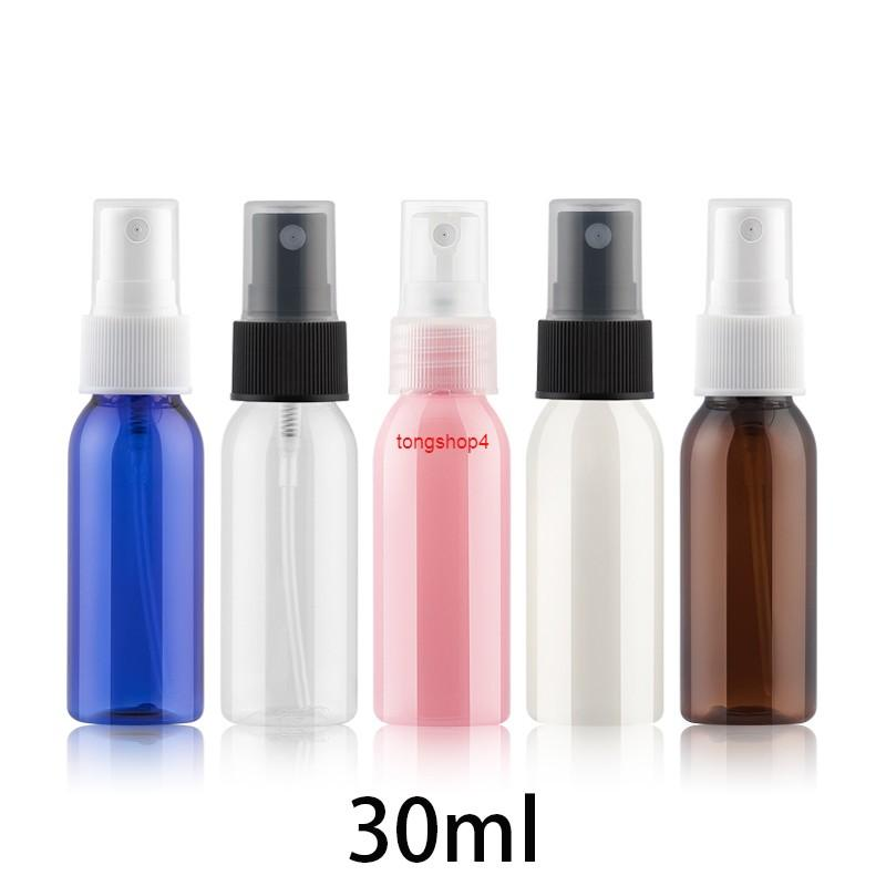 30ml Empty Plastic Spray Bottle Makeup Water Perfume Atomizer Cosmetic Face Toners Packaging Small Containers Free Shippinggood qualtity