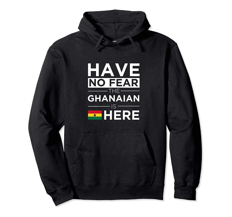 Non abbiate paura Il ghanese qui Orgoglio con cappuccio unisex S-5XL Nero / Grigio / Navy / Royal Blue / scuro Heather Ghana Proud