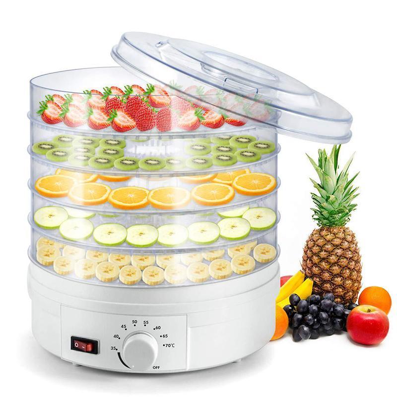 Прозрачные сухофрукты машина Обезвоживание сушилка 5-слойная Бытовая сушилка 220 Pet Snack Machine