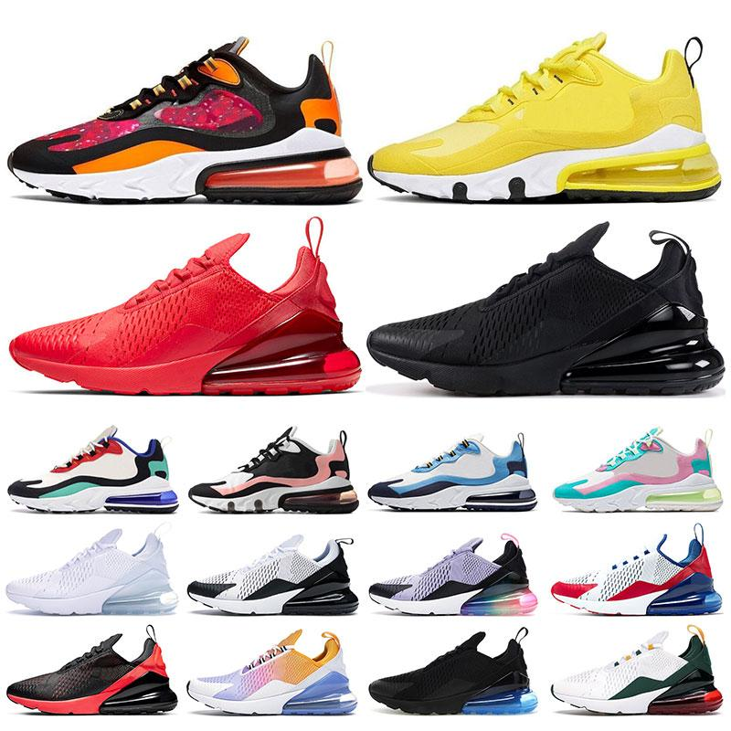 nike air max 270 2019 Laufschuhe für Männer Frauen Triple schwarz weiß haben einen Tag South Beach Throwback Future Sports Sneaker Trainer Größe 36-45