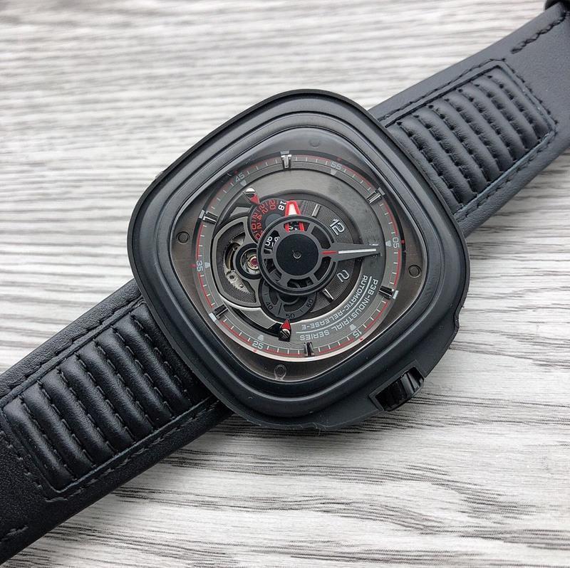 Relojes de pulsera Reloj para hombre 3B / 01 relojes de cuero 316L de acero inoxidable para hombre Colores a prueba de agua automáticos 2021 Diseño 22