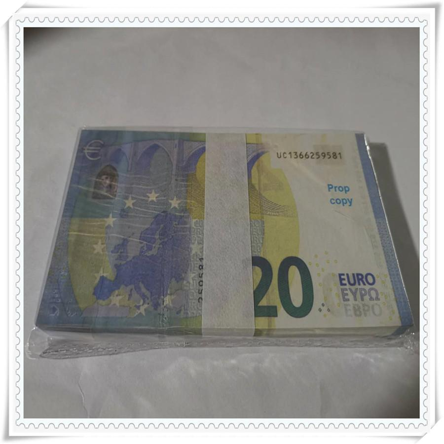 banconote partito striscia usura valuta tiro di compleanno 20 Euro di vendita caldo di simulazione 2020 prodotto transfrontaliera