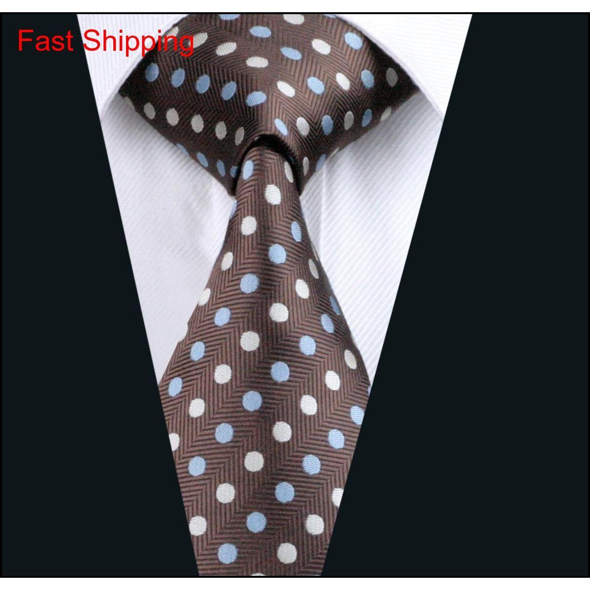 Hombre punto estilo cuello conjunto bolsillo cuadrado gemeljillas jacquard tejido para hombre corbata de seda trabajo formal conocer qylila beauty888