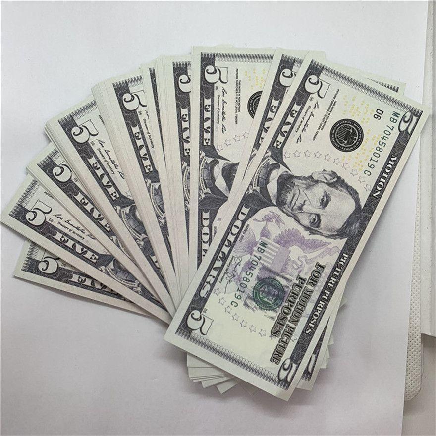 Jeu d'Halloween non marqué Pirate commémoratif en or Paper Paper Coin COIN Edition USD F22 Pièce Nouvelle Monnaie 5 BCTSQ URJKE
