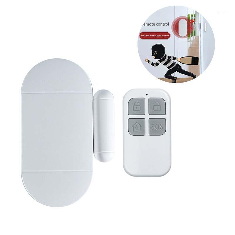 Системы тревоги Высококачественные двери / оконные магнитные беспроводные датчики безопасности. Инструменты безопасности дома Alarmas de Seguridad Para Casa1