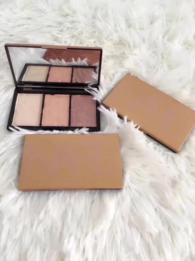2020 1 pçs / lote maquiagem blush palette 3 cores diferentes 4Mixed paleta de alta qualidade frete grátis moda comestics