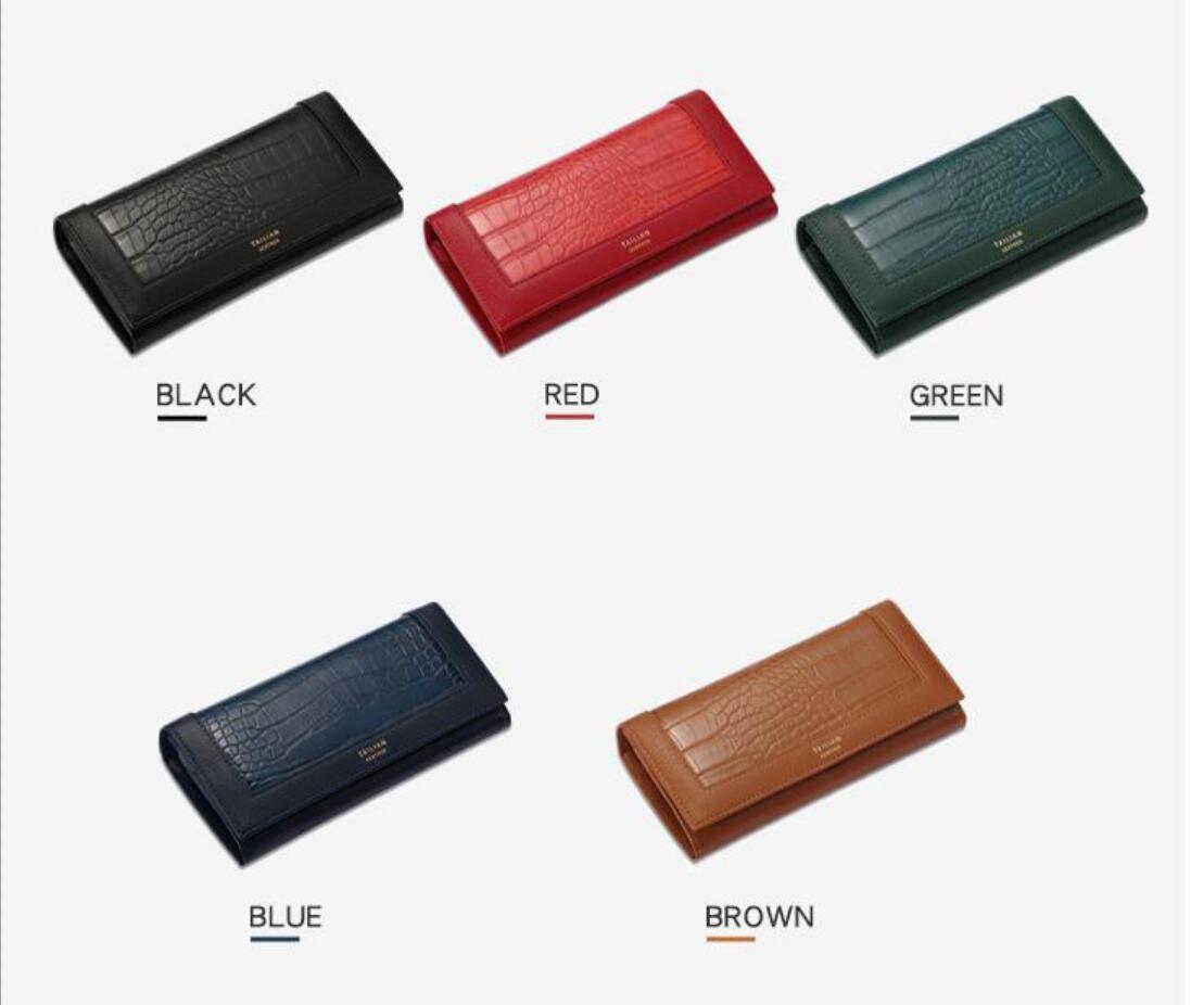 HBP Brieftasche Mode Frauen Geldbörse Kartenhalter Womam Brieftasche Alligator Muster Geldbörse Alle Farbe Mann Geldbörse Lange Brieftaschen Freies Verschiffen T8806-073