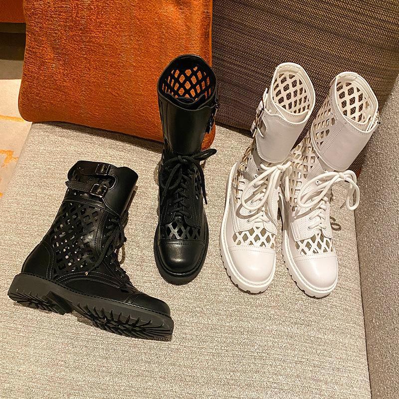 تبريد أحذية المشاهير على شبكة الإنترنت الإناث في نفس شبكة تنفس الأحذية مارتن مساعدة عالية ربط بارد دراجة نارية من روما