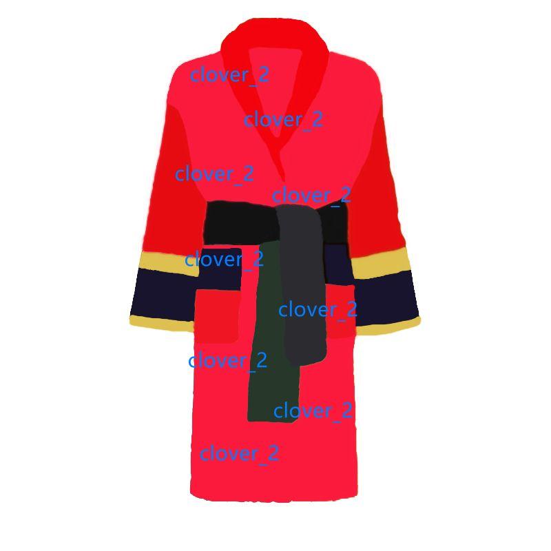 Brand Designer Frauen Bademäntel Schlaf Robe Unisex Baumwolle Sleepwear Night Robe Hohe Qualität Bademantel Klassik Claincial Luxus Robe Sehr heiß KLW1739