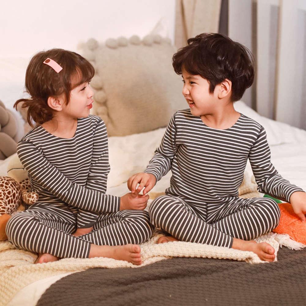 Veet 2020 Nuevos pantalones de tela cálida Traje Pijamas Ropa interior para bebés Pijamas para hombre Otoño y invierno