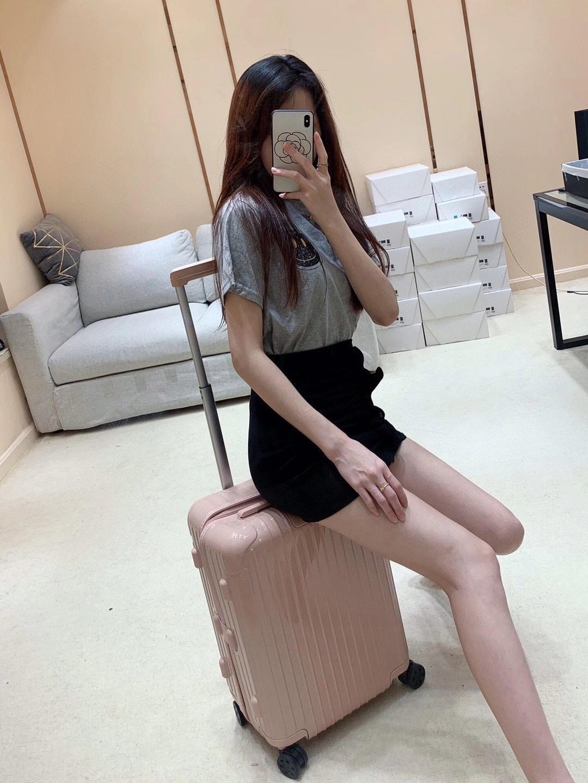 Original-Patentleder-Koffer-Koffer-Pull-Rod-Box 24 Reise-Kennwortkasse WanxianGlun 20-Zoll-kleiner männlicher und weiblicher stabiler kofferraum großhandel