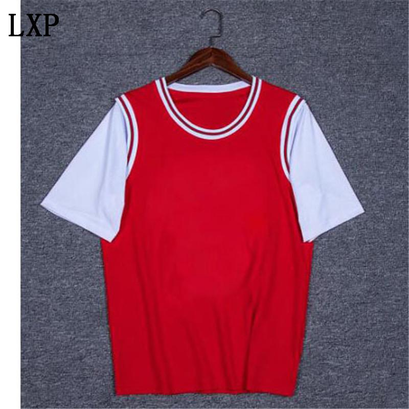 Livraison gratuite Men Outdoor Summer Casual T-shirt des hommes de sport T-shirt Sport Respirant rapide Dry Tops Plus Size XS-4XL N-2