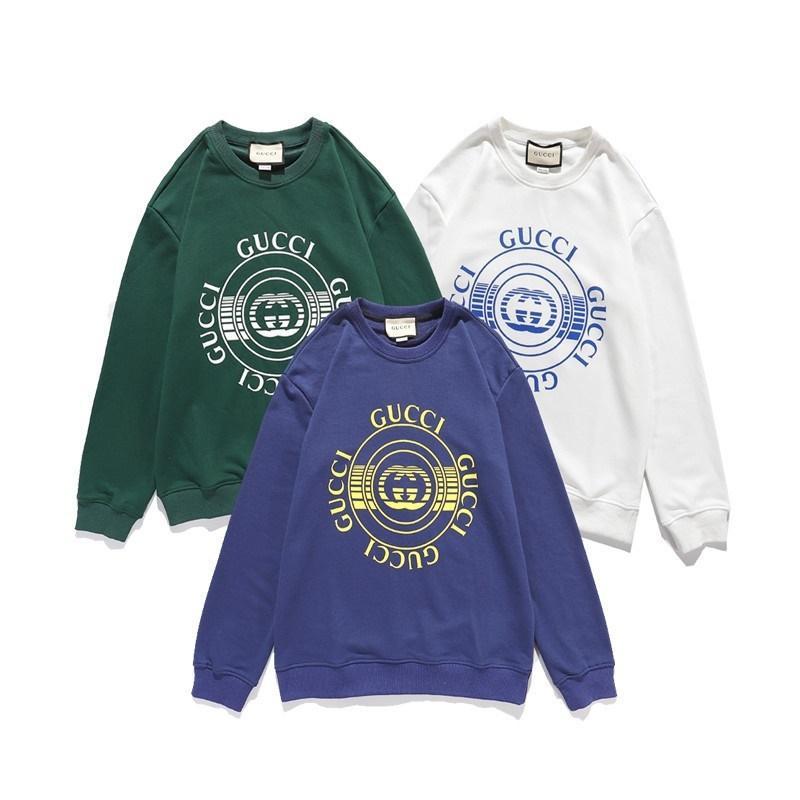 Abbigliamento Maglione maglione delle donne degli uomini di marca del classico caldo a maniche lunghe Felpa con cappuccio Designer di moda Top molla di autunno di lusso m-XXL